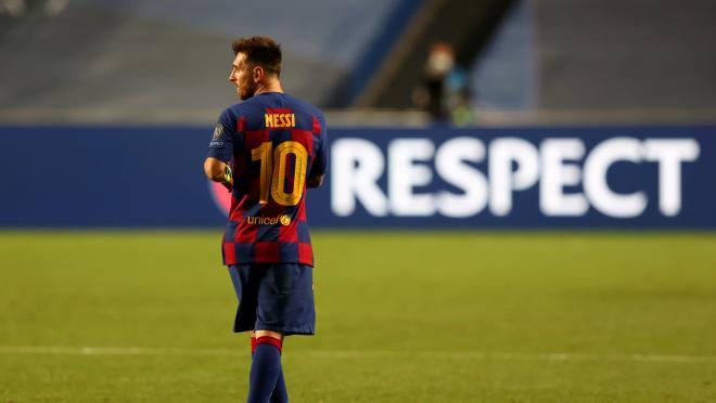 Lionel Messi Covid-19 Testing