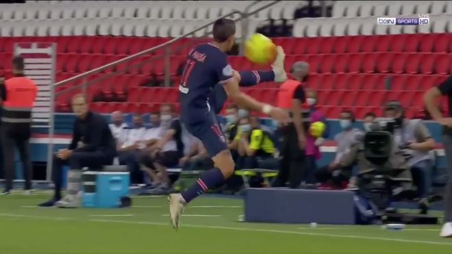 Ángel Di María Touch vs Metz