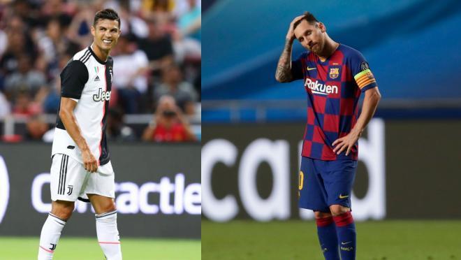Messi vs Ronaldo FIFA Ratings