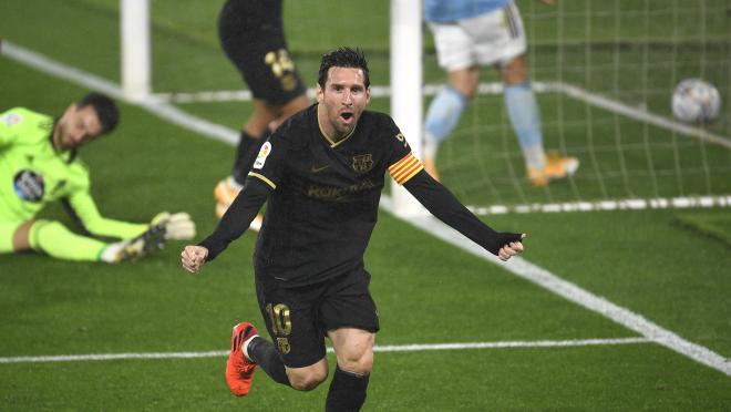 Lionel Messi vs Celta Vigo