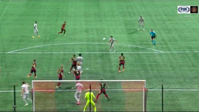 Caden Clark goal vs Atlanta United