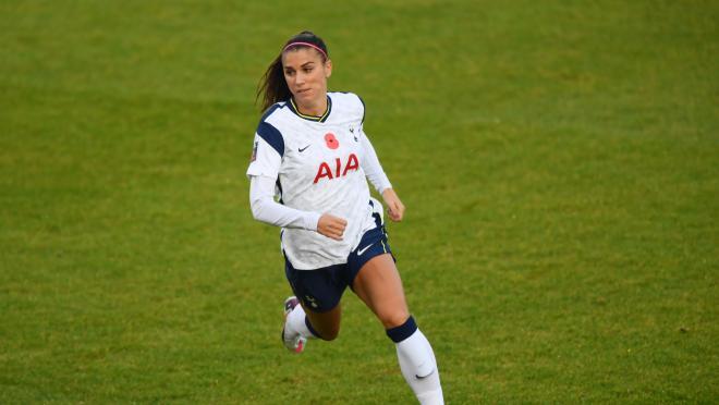 Alex Morgan Tottenham Debut