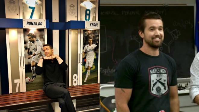 Ryan Reynolds soccer team