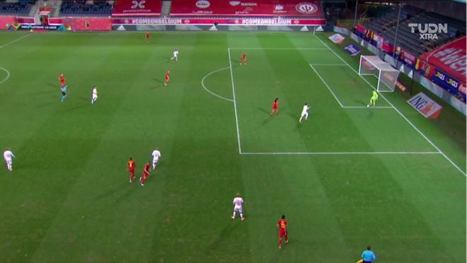 Thibaut Courtois own goal