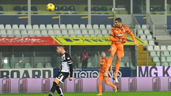 Cristiano Ronaldo Header vs Parma