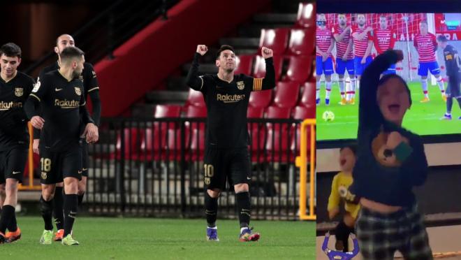 Goles Messi versus Granada
