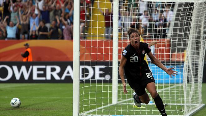 Abby Wambach Goal vs Brazil (2011 Women's World Cup)