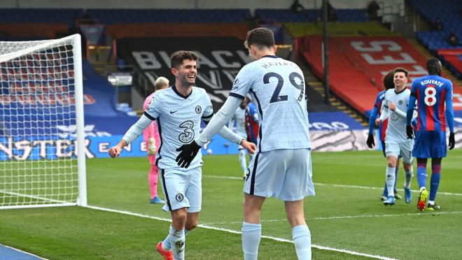 Christian Pulisic Goals vs Crystal Palace
