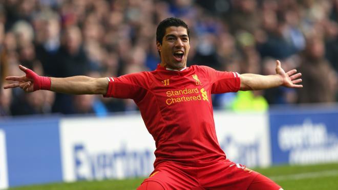 Luis Suárez Liverpool Stats