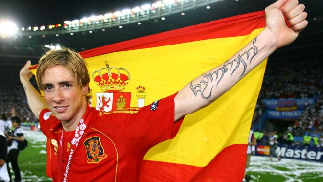 Soccer Nerds: Fernando Torres has a tattoo of his name in an Elvish script on his arm