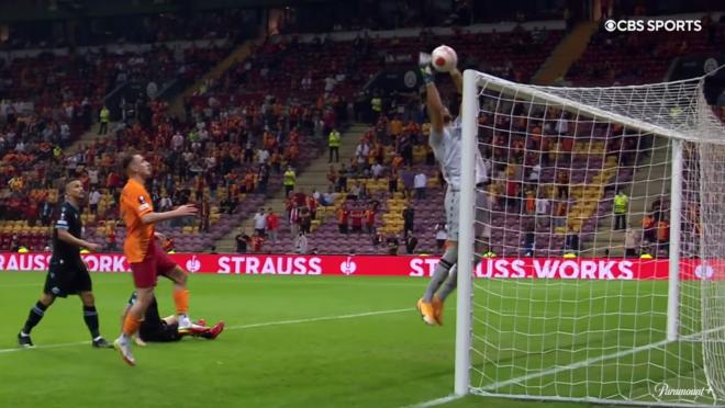 Lazio Own Goal vs Galatasaray