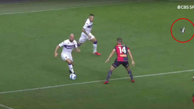 Riccardo Saponara Goal vs Genoa