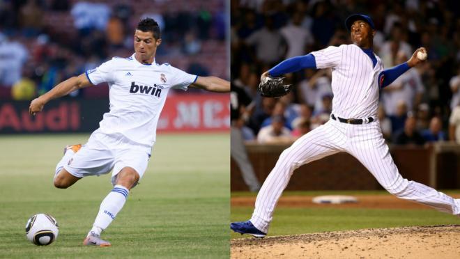 Cristiano Ronaldo and Aroldis Chapman