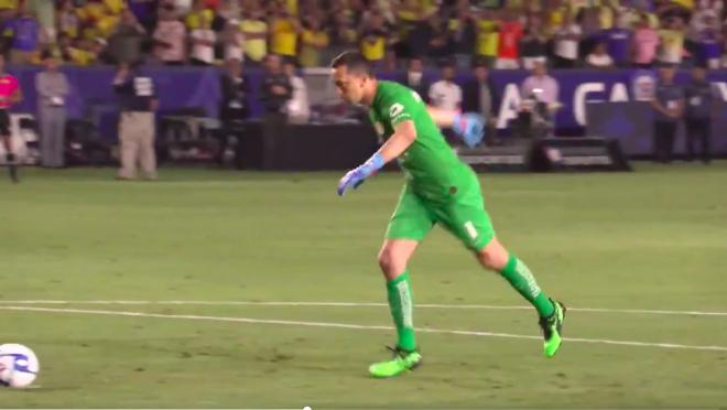 Agustin Marchesin penalty saves