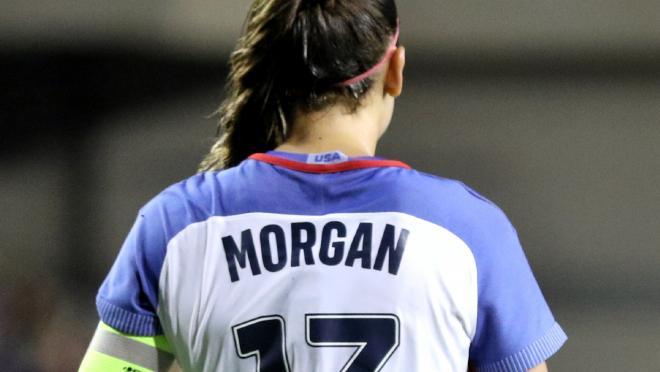 Alex Morgan goal vs China