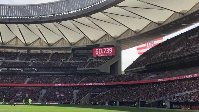 Barcelona vs Atletico Madrid women's attendance