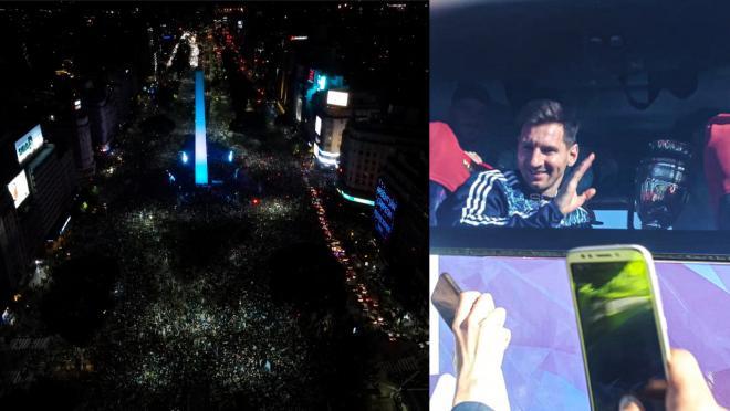 Argentina celebrates Copa America 2021 win