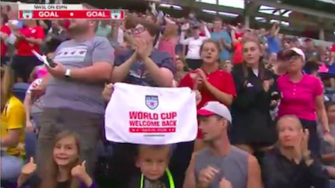 NWSL attendance after World Cup