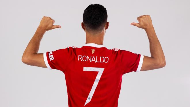 Cristiano Ronaldo number at Manchester United