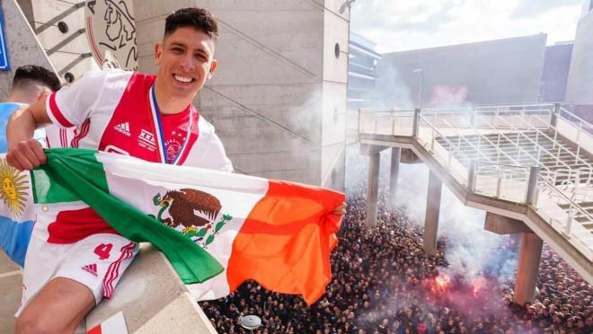 Edson Álvarez Campeón Ajax