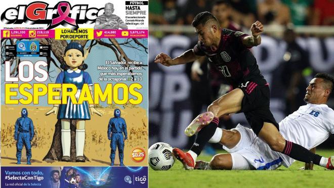 Dónde ver El Salvador vs México