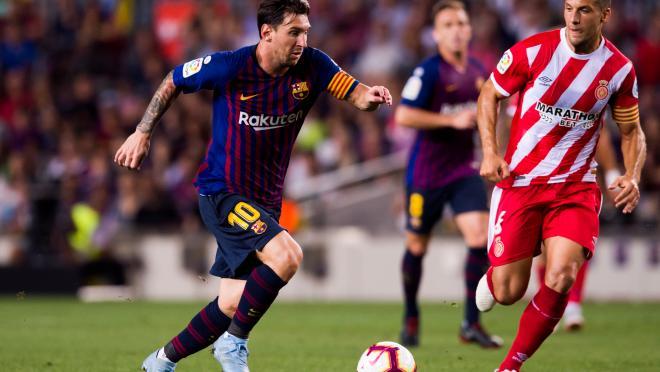 Lionel Messi goal vs Girona
