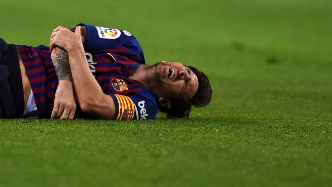 Lionel Messi injury news now