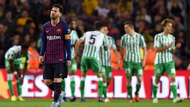 Lionel Messi Barcelona return spoiled by Real Betis