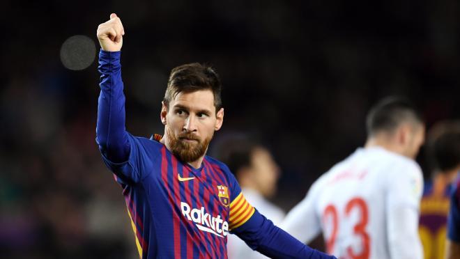 Lionel Messi 400th league goal