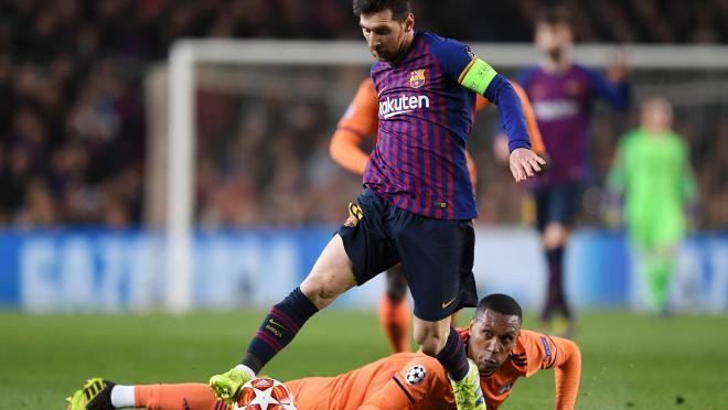 Lionel Messi goals vs Lyon 2019