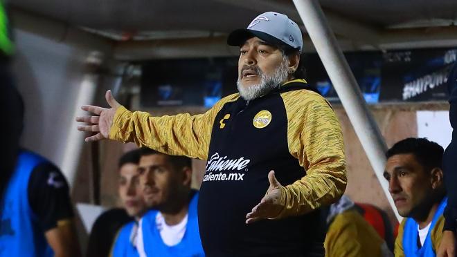 Diego Maradona Manchester United manager