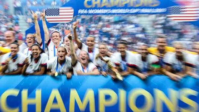 USWNT world cup final party