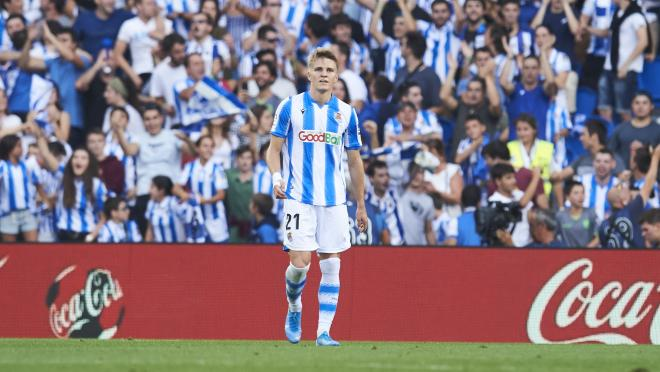 Martin Odegaard Real Sociedad highlights