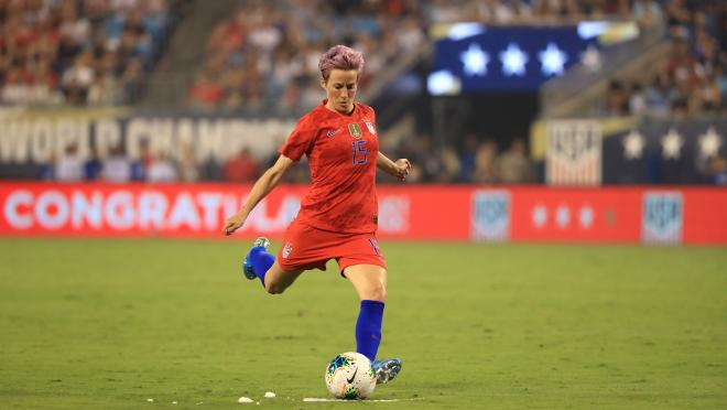 Megan Rapinoe cleats by Nike