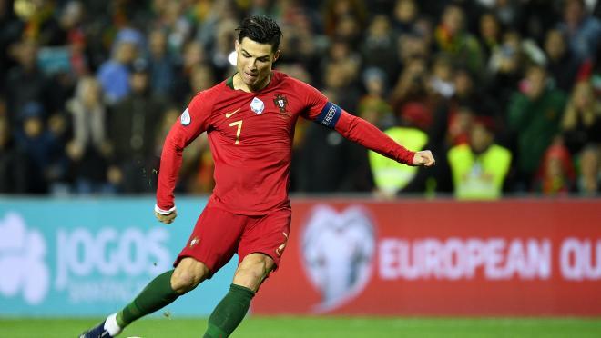 Cristiano Ronaldo international goals