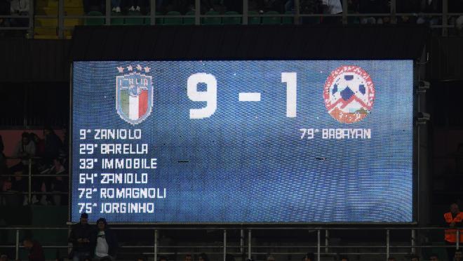 Italy Euro 2020 qualifying