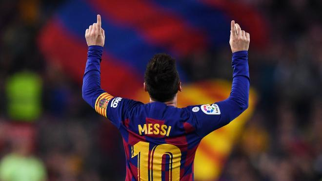 Lionel Messi vs Valladolid
