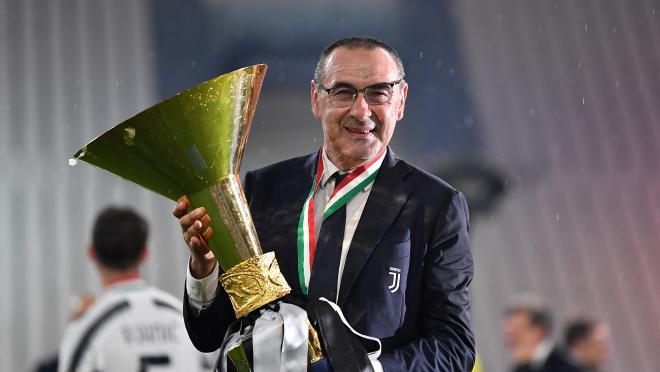Juventus fires Maurizio Sarri