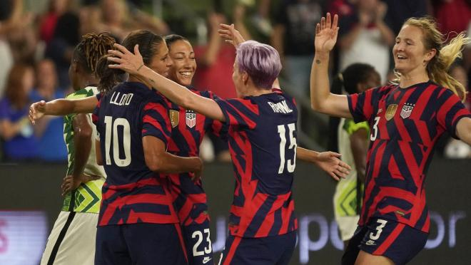 USWNT Olympic roster