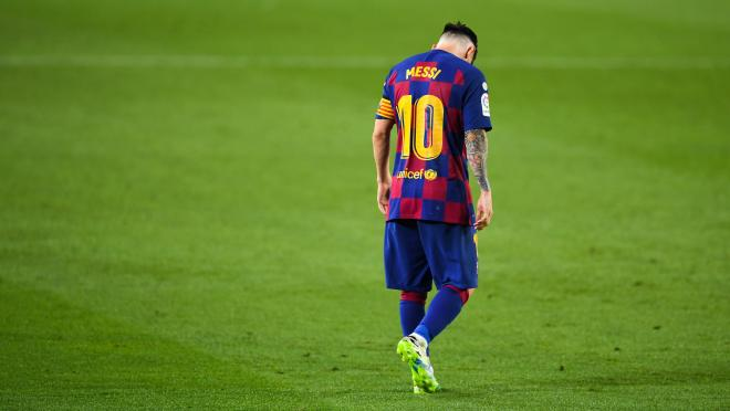 Why is Messi leaving Barcelona