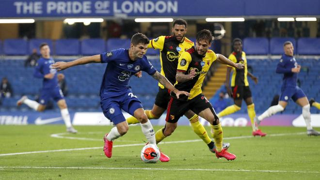 Pulisic vs Hazard