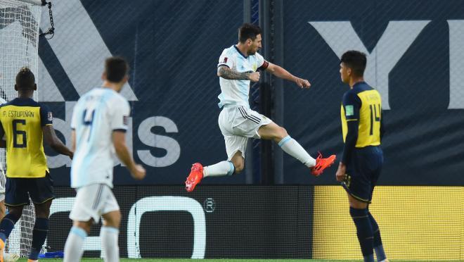 Lionel Messi vs Ecuador