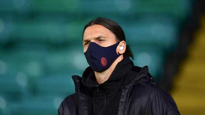 Zlatan Ibrahimovic COVID