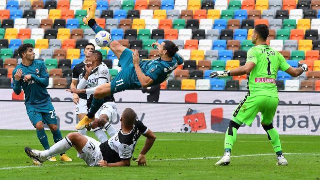 Zlatan Ibrahimovic overhead kick