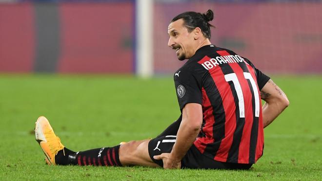 Zlatan Ibrahimovic injury update