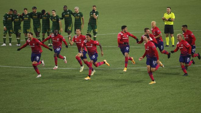 FC Dallas upsets Portland