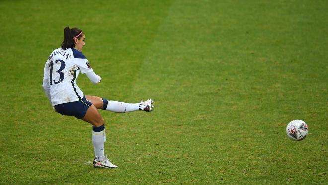 Alex Morgan Tottenham goal