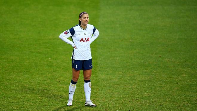 Alex Morgan Tottenham loan ends
