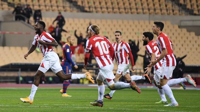 Inaki Williams goal vs Barcelona