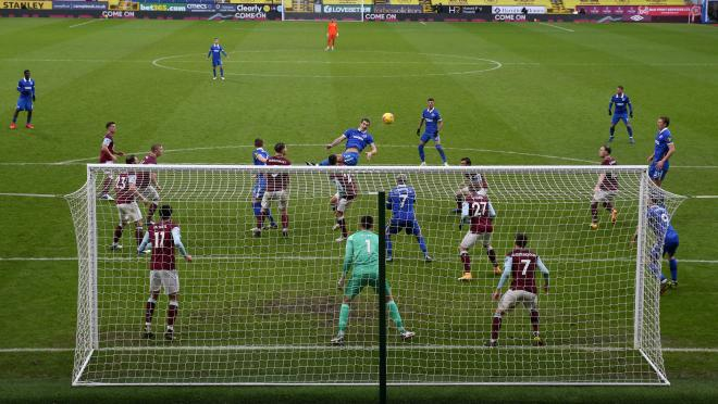 Burnley attacking stats